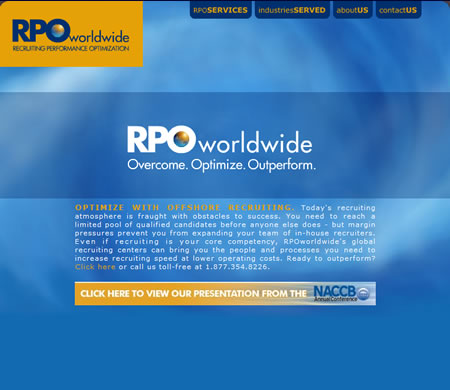 RPO Worldwide Website